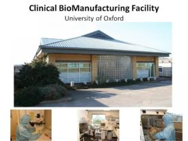 The Clinical Biomanufacturing Facility, University of Oxford