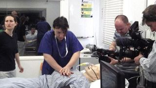 BBC films medical training sessions based on aviation industry