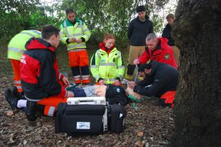 Hems training at boars hill