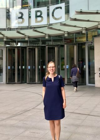 Amy orben participates in bbc debate on social media and well bring