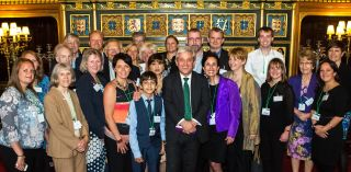 Ralli celebrates 2 year anniversary with visit to parliament