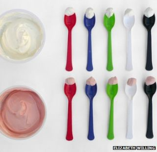 Cutlery can influence food taste