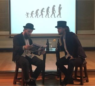 Ep researcher martin oneill takes pavlov to the stage as part of the pint of science festival