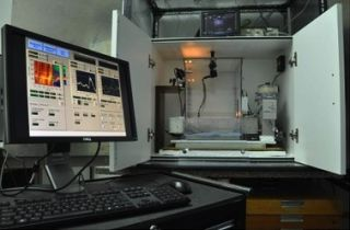 Fast scan cyclic voltammetry set up