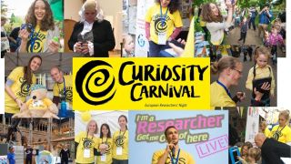 Curiosity Carnival - a night of research to remember!