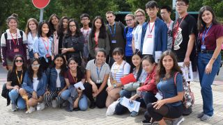 London international youth science forum visits oxford neuroscience