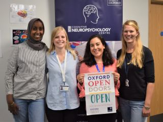 Researchers from the oxford cognitive neuropsychology centre at oxford open doors 2018