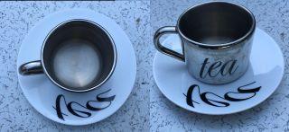 Anamorphic Tea Cup