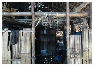 The signs of Animism can be seen in most Karen villages in rural areas. It is a reminder to communicate with respect, not to offend others, and not to get into trouble for oneself. Most villagers who practice Animism live close to nature and no nails are used for the building of their houses.