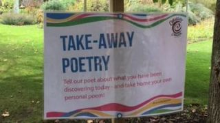 Take-away poetry from a science poet