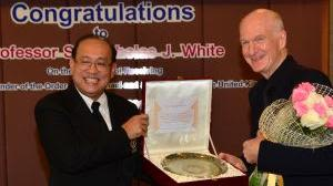 Mahidol university honours sir nick