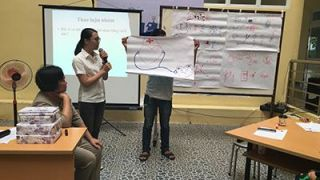 Oucru leads first science cafe at hue medical university