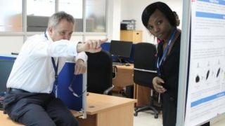 Kemri wellcome trust site visit in kenya