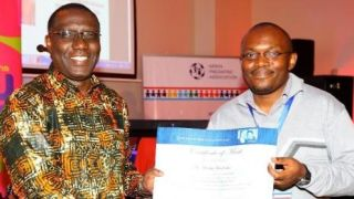 Kemri wellcome trust researchers receive awards at the 16th kenya paediatric association kpa annual scientific conference