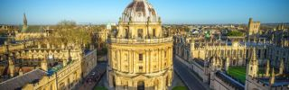 Oxford skyline banner best in medicine 2018