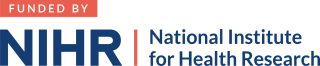 Funded by the NIHR logo