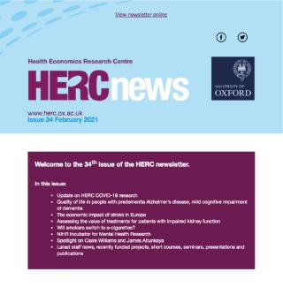 HERC Newsletter - Issue 34 - February 2021