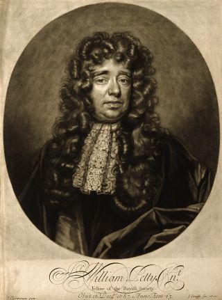 Portrait of William Petty