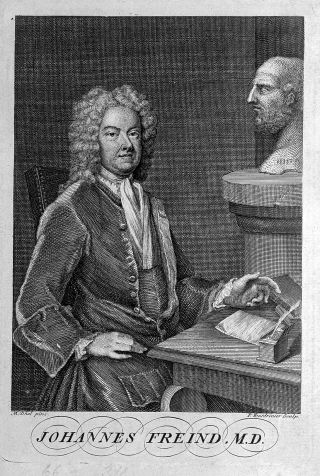 Portrait of John Freind