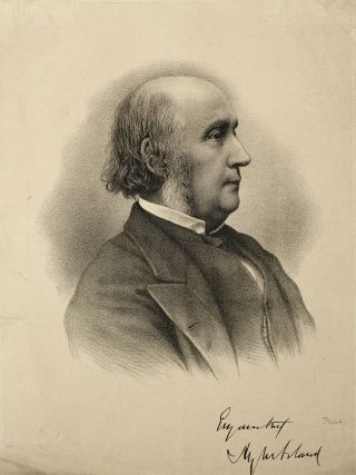 Portrait of Henry Acland