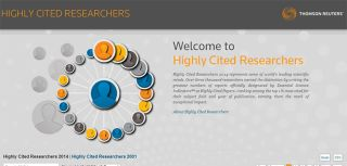 Department2019s researchers 2018highly cited2019