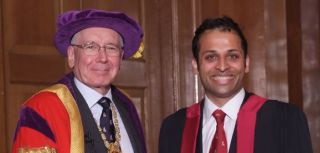 Neurosurgeon awarded hunterian professorship