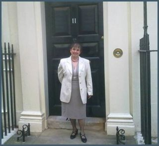 Dr Bethan Lang at Downing Street