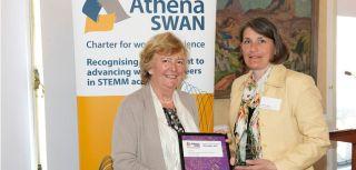Athena swan award ceremony