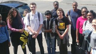 London school students meet our scientists