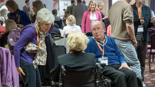 Patients, carers, and researchers discuss a rare form of motor neuron disease