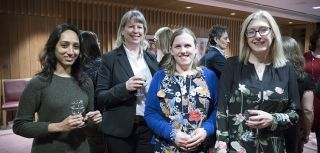 On Thursday 8 March 2018, some of our Department's senior women attended a dinner to mark International Women's Day.