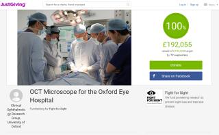 OCT Microscope Crowdfunding
