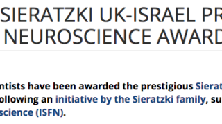 Charlie stagg awarded sieratzki uk israel early career researcher2019s prize