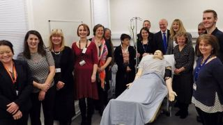 New medical simulation suite at Horton General Hospital