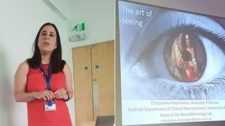 Change blindness work presented at Digital Humanities Summer School