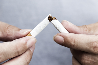 Assisted smoking reduction trial
