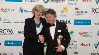 Ben Goldacre recognised for outstanding contribution to health