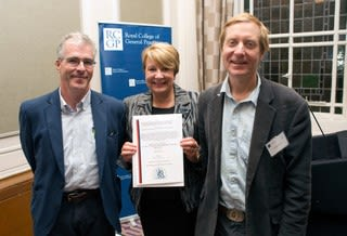 DUTY study scoops RCGP Award