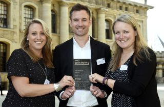 The University of Oxford celebrated its sustainability stars at a prestigious awards event on 12 June, where the Nuffield Department of Primary Care Health Sciences was awarded a Green Impact Bronze Award.