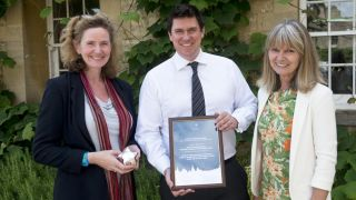 VC's public engagement award presented to Professor Trish Greenhalgh and IRIHS team