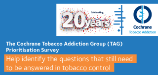 What is the next focus of tobacco addiction research