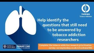 What should tobacco addiction research focus on next?