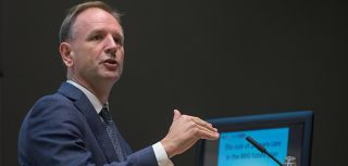Simon Stevens addresses the UK's academic primary care community in Oxford.