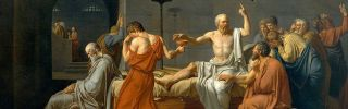 The death of socrates 1