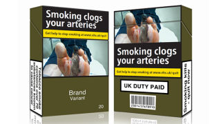 Evidence suggests standardised cigarette packaging may reduce smoking prevalence