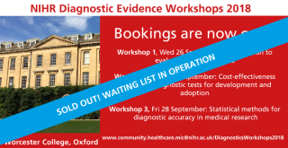Diagnostic evidence workshops waiting list now operating 4