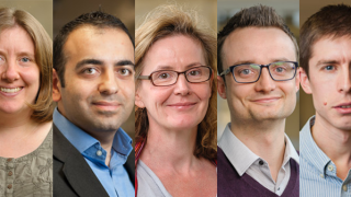 Five staff recognised for research and teaching achievements