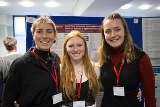 Final honours students at spcr showcase 2018