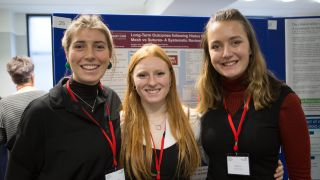 Undergraduate students present at national showcase