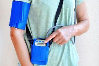 An ambulatory blood pressure monitor